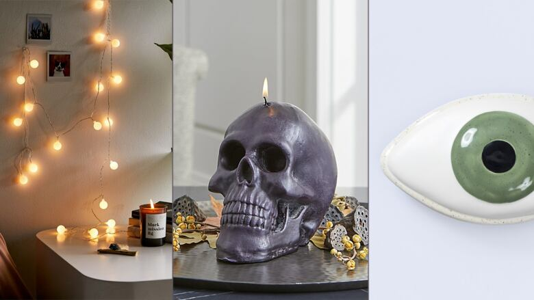 40 Halloweeny Home Accents That Are More Swoon Than Spooky CBC Life Unique Home Accents Halloween Decorations