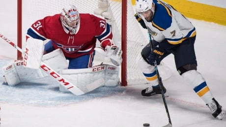 Gallagher's last-second winner welcomes Price back to Habs' net | CBC