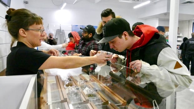 'Beyond expectations': Booming sales at Winnipeg cannabis stores threaten supply