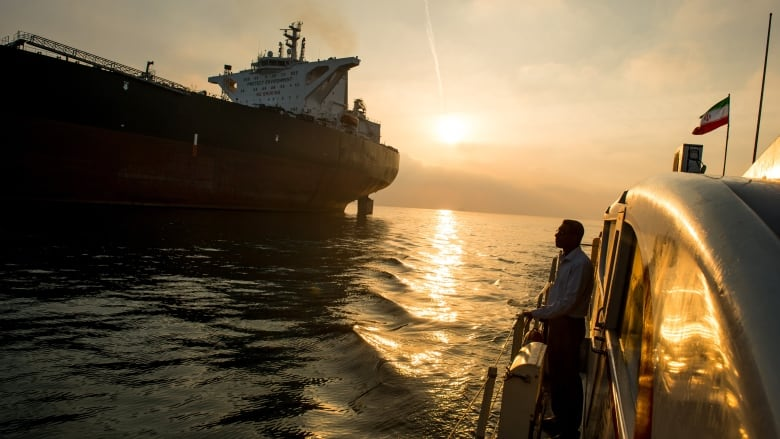 Iran says its navy came to aid of missing oil tanker Riah as tensions mount in Gulf