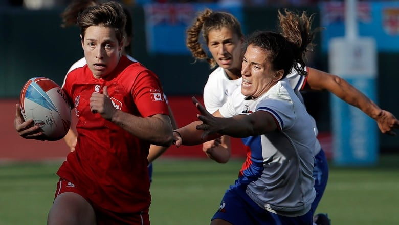 Canadian rugby 7s captain Ghislaine Landry scores 1,000th career