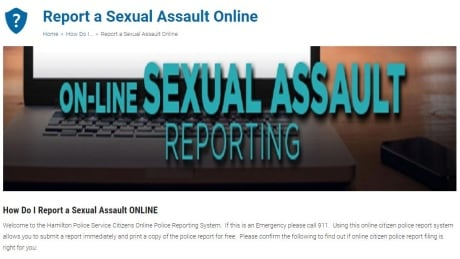 Edmonton police to introduce online reporting for sexual assault victims