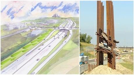 Bowfort interchange public art project won't be completed, says city   CBC