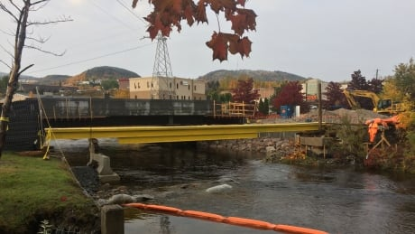 'It's a really cool day for us': Corner Brook's Main Street bridge moving in