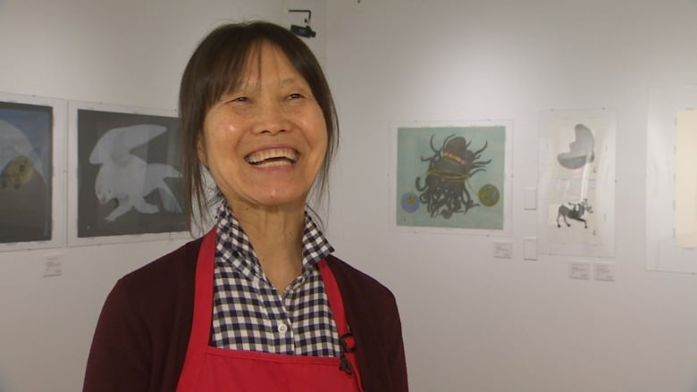New collection of world famous Cape Dorset prints on display today