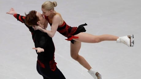 Russian pair Tarasova, Morozov jump out to big lead at Skate America