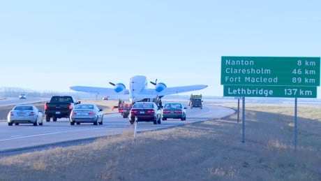 Historic airplane makes journey from High River to museum in Nanton   CBC