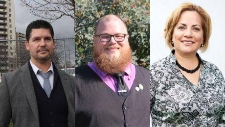 Chad Collins, Stewart Klazinga, Juanita Moldonado