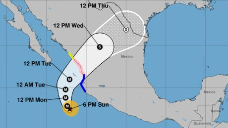 'Extremely dangerous' Hurricane Willa aims for Mexico