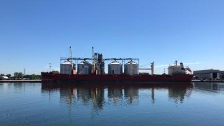 Hamilton port