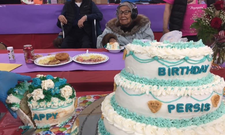 Happy birthday Persis Gruben! N.W.T. elder is 100 years old | CBC News