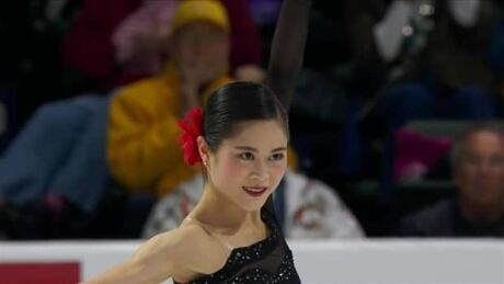 Japan's Satoko Miyahara captures ladies crown at Skate America