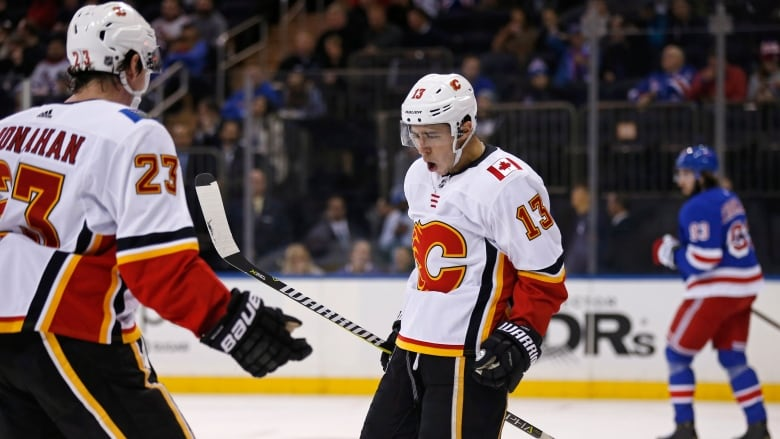 Flames' Gaudreau Continues Hot Start In Win Over Rangers