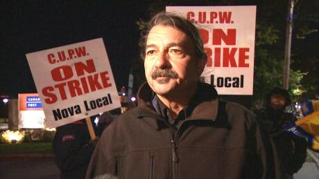 Tony Rogers, president of the Nova Local of the Canadian Union of Postal Workers