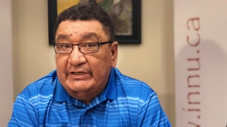 Innu Nation Grand Chief Gregory Rich