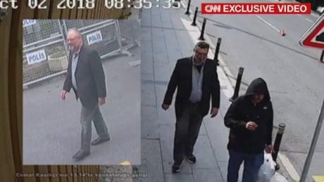 CNN exclusive Khashoggi video