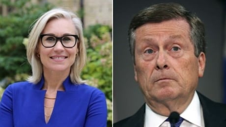 John Tory Jennifer Keesmaat composite photo mayor election Toronto