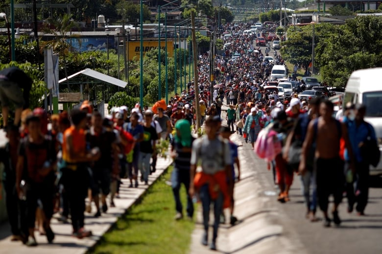 Trump made them his target, but Central American migrant caravans