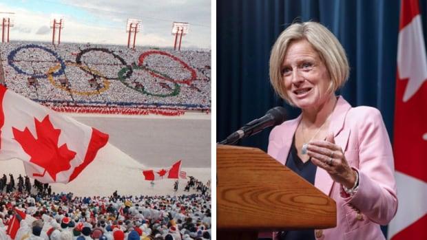 Alberta Premier Rachel Notley Calgary 2026 Olympics