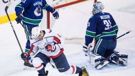 Ovechkin dominant as Capitals overwhelm Canucks