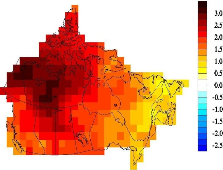 Here's what climate change could look like in Canada