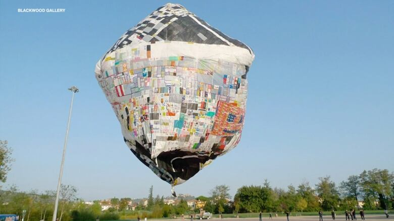 Your plastic bags might be part of this humongous levitating