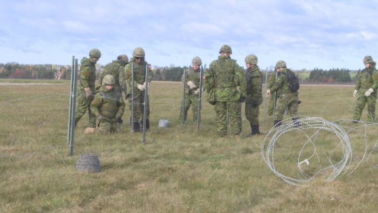 Bringing in the troops: Hundreds of Canadian Armed Forces engineers descending on P.E.I. Armed-forces