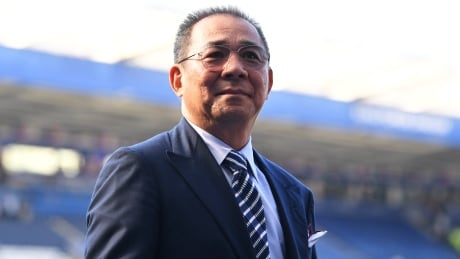 Leicester City soccer club says owner among 5 killed in helicopter crash