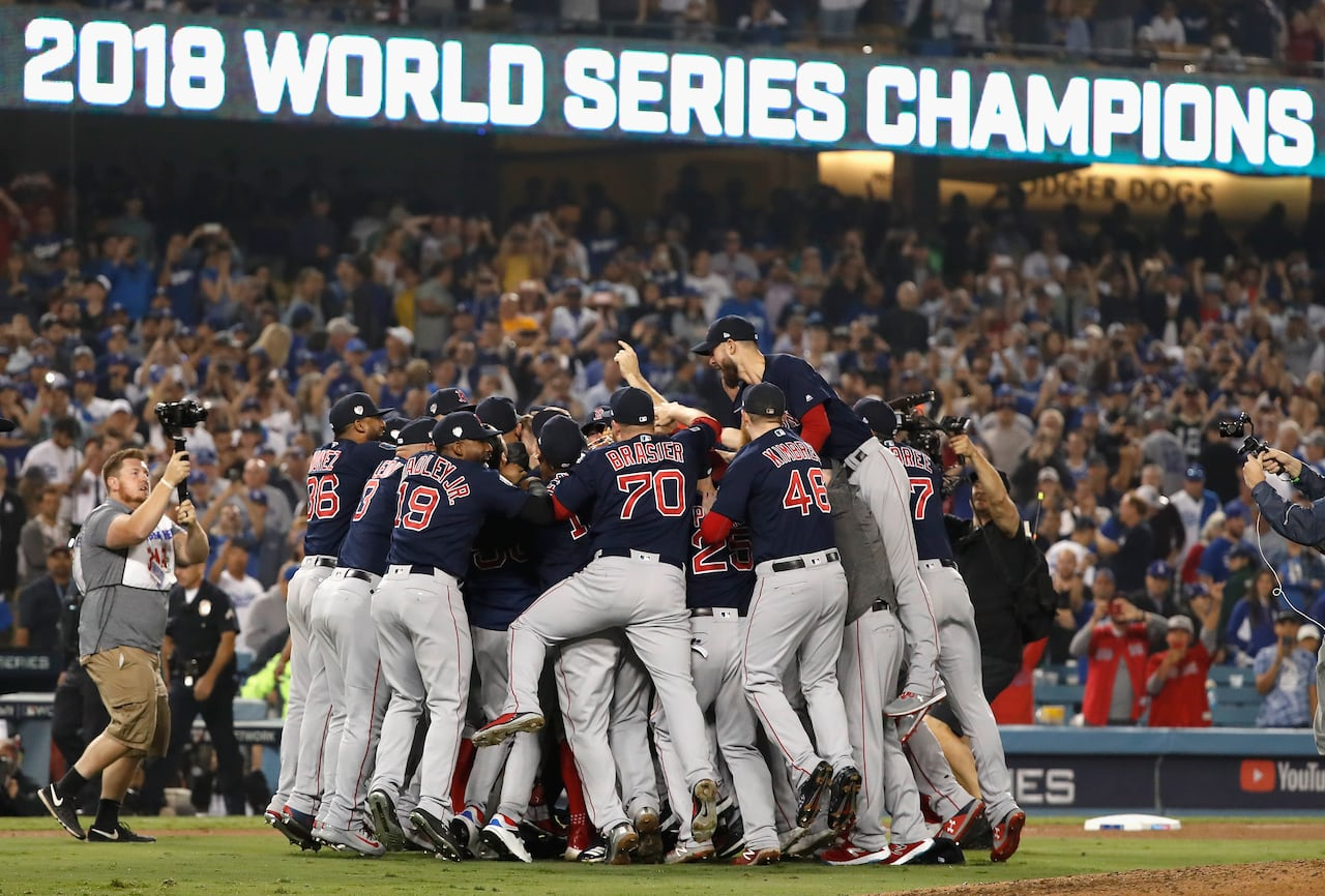 2146ba9f Red Sox put cap on juggernaut season with World Series title | CBC ...