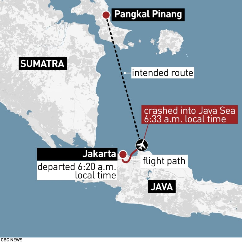 Black Box Found From Crash of Indonesian Passenger Plane