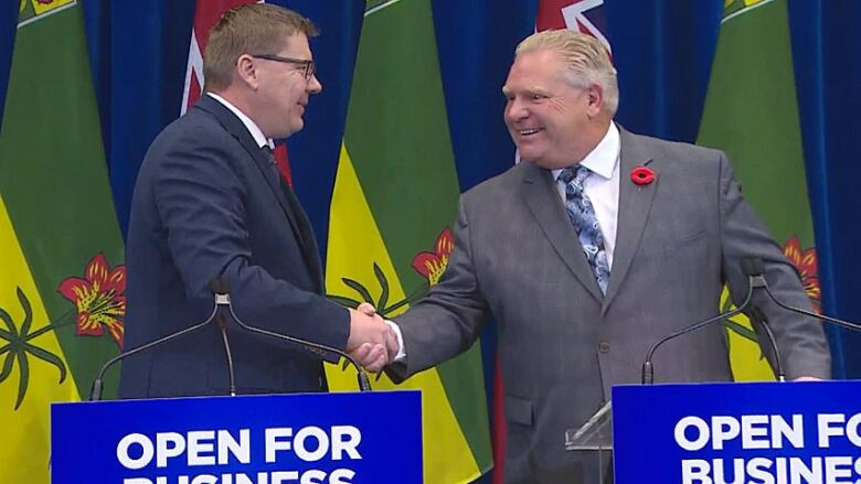Ford government's legal challenge against federal carbon tax in court today
