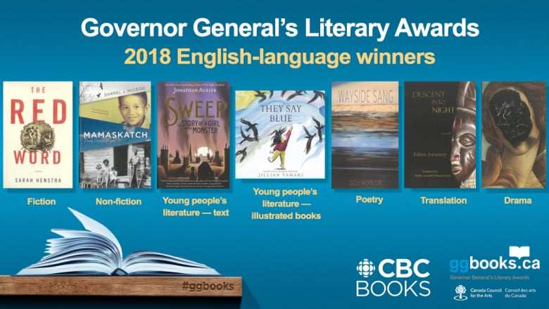 Here Are The Winners Of The 2018 Governor General S Literary Awards