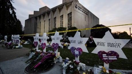 APTOPIX Shooting Synagogue
