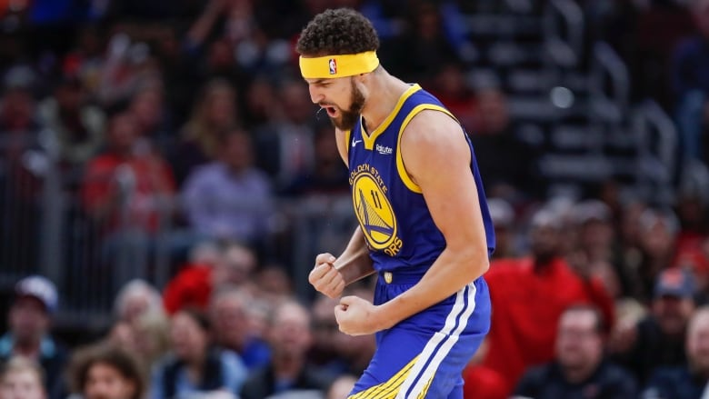 size 40 4cfaf 1546b Klay Thompson sets 3-point record, puts up 52 points in ...