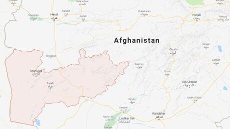 Afghanistan Helicopter Crash Farah Province