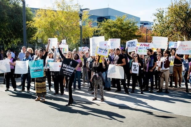 Google employees around the world walk out to protest sexism