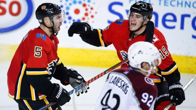 Flames Catch Fire With 5-goal 3rd Period For Comeback Win Over Avs