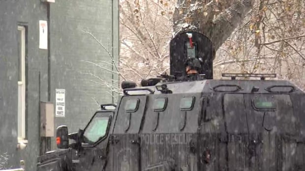 Police standoff with 'armed and barricaded' person