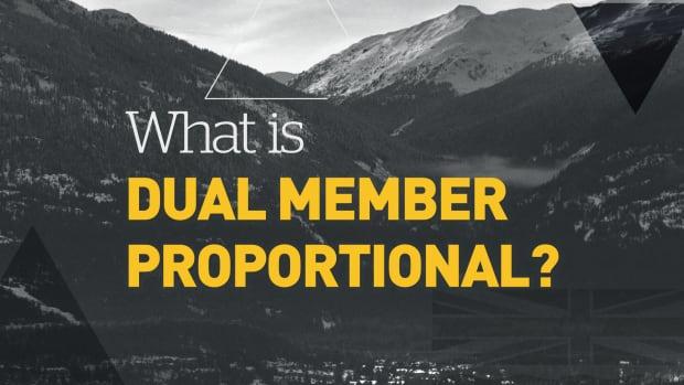 B.C. referendum explainer: dual member proportional