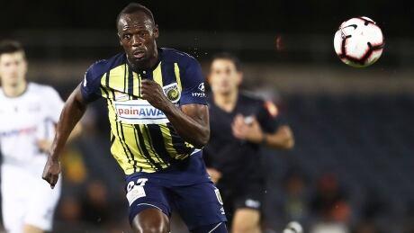 Usain Bolt stays positive after pro soccer deal falls through