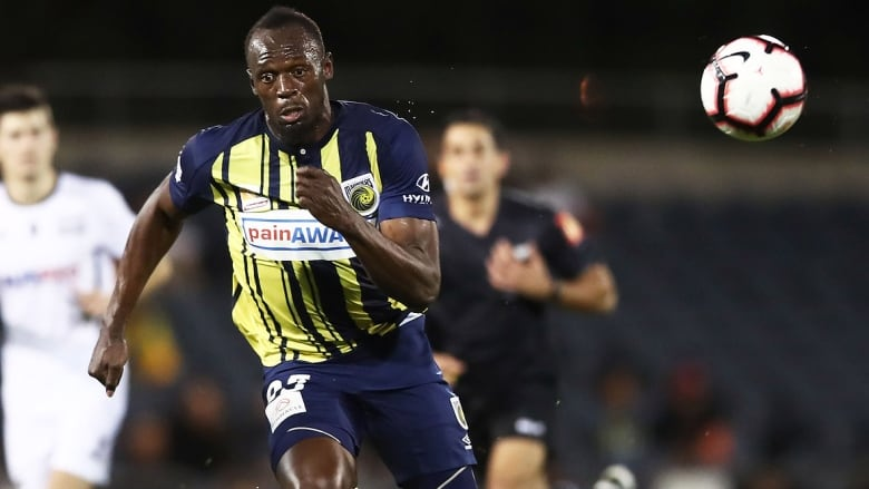 Usain Bolt stays positive after pro soccer deal falls through | CBC