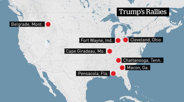 Trump Support By State Map.Trump Picks Cities With Strong Support For Final Midterms Blitz