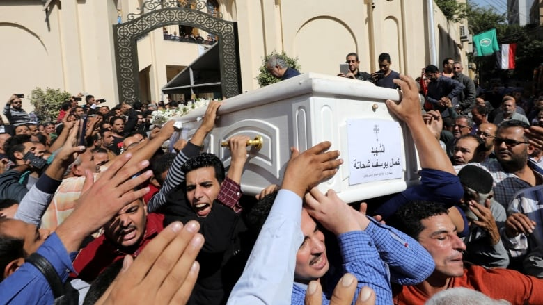 Egyptian militants who attacked Christian pilgrims killed