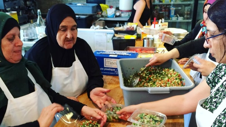 Refugee-staffed meal service aims to bring Syrian food to new Toronto neighbourhoods (CBC, Nov 4/18).