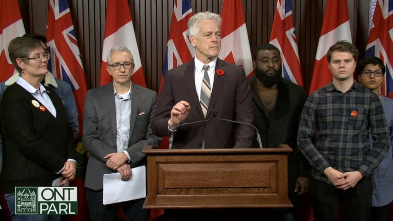 NDP warns Ontario labour reforms will hurt post secondary
