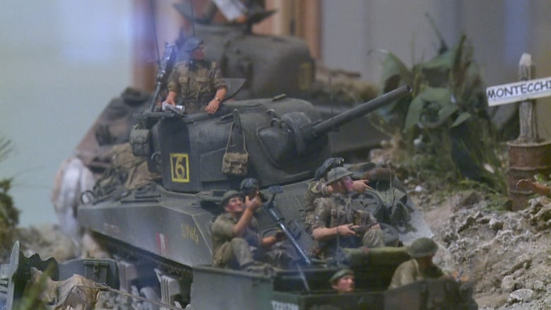Labour of love': This diorama of a WW II battle took more