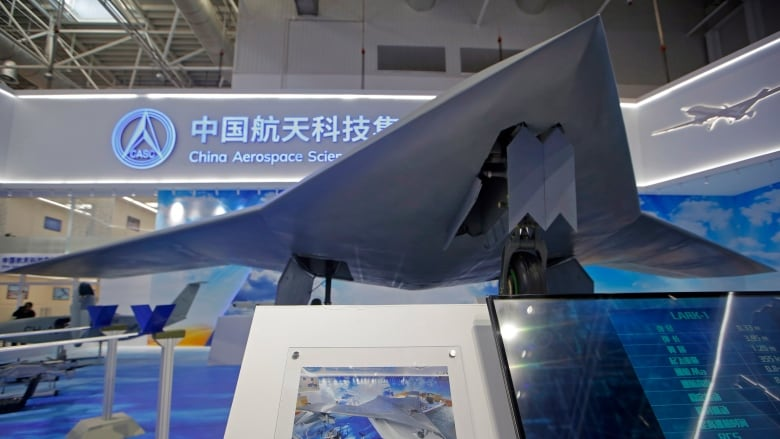 China unveils stealth combat drone in development   CBC News