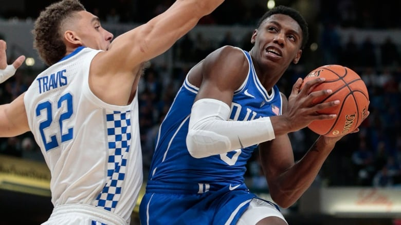 best authentic 71a32 af657 Canada's R.J. Barrett breaks Duke record in sizzling college ...