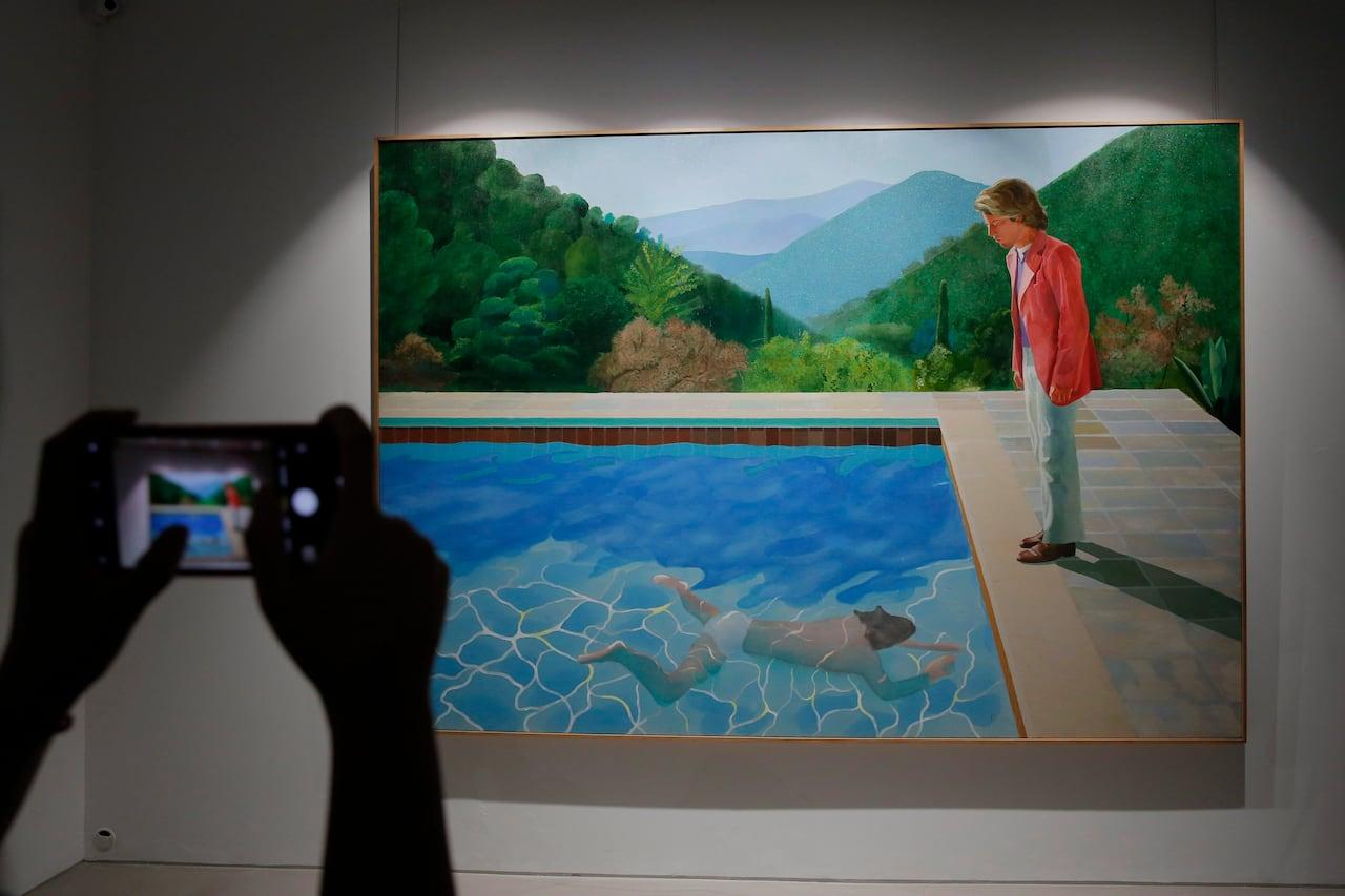 Hyper Realistic Portrait London Museum Of Modern Art