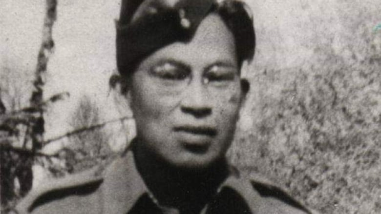 Beau Edward Clutesi In Shown His Uniform. The Indigenous Soldier Died In  Northern France During The Second World War. (Submitted By Isobelle Clutesi)